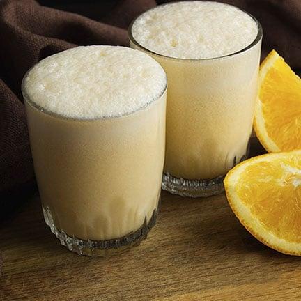 White Chocolate Orange Frappe